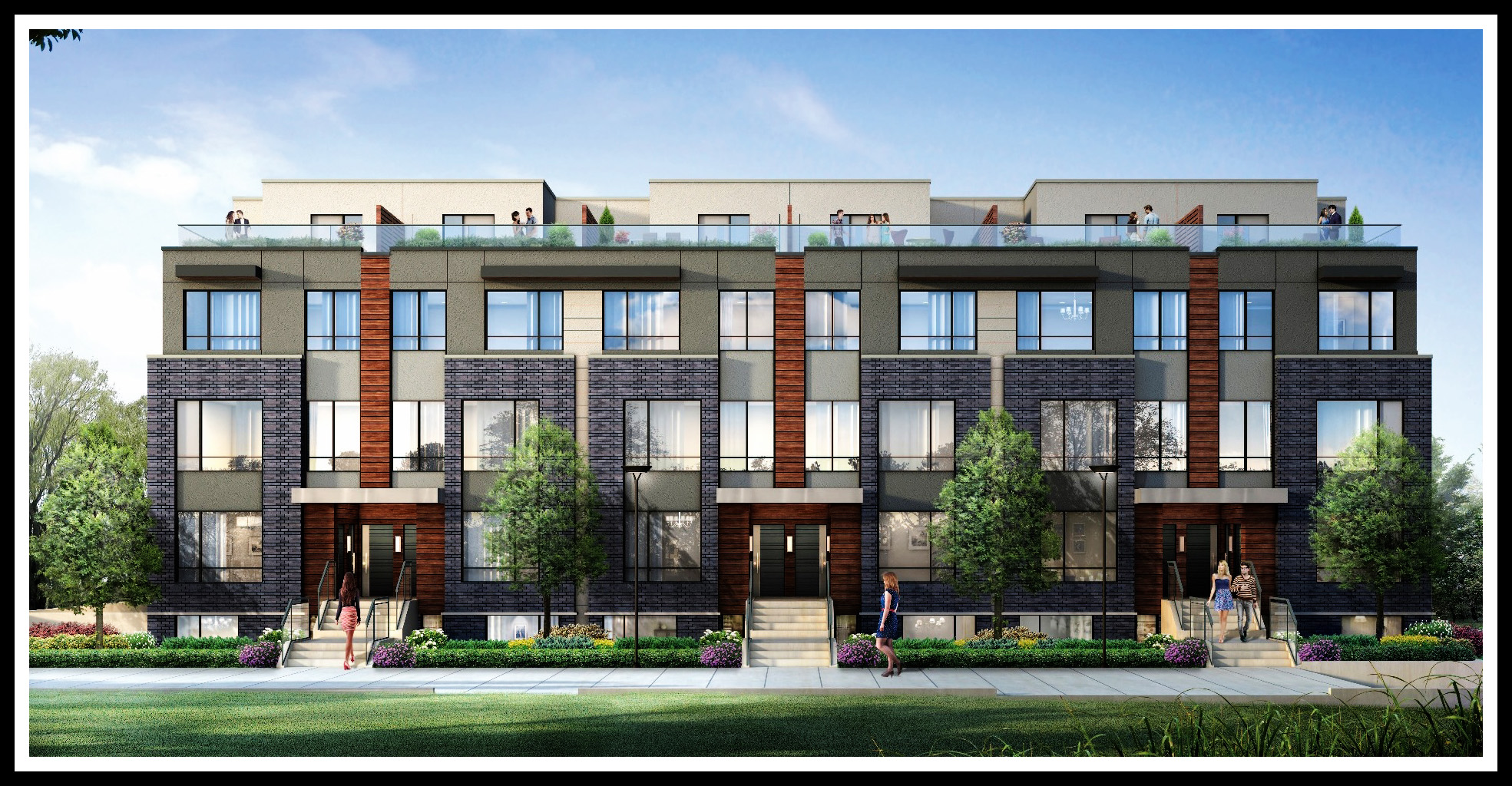 Stacked townhouse floor plans for Stacked townhouse floor plans